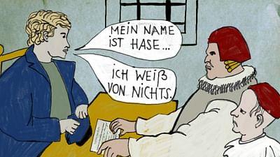 """Karambolage - l'expression : """"Mein Name ist Hase, ich weiß von nichts"""""""