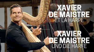 Xavier de Maistre et la harpe