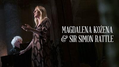 Magdalena Kožena et Sir Simon Rattle