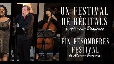 Un festival de récitals à Aix-en-Provence
