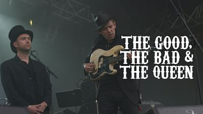 The Good, the Bad and the Queen aux Eurockéennes (2007)