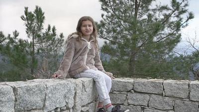 Portrait d'enfant : Francesca en Corse