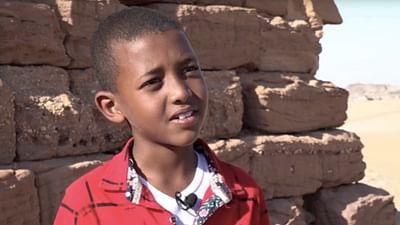 Portrait d'enfant : Nourreddine au Soudan