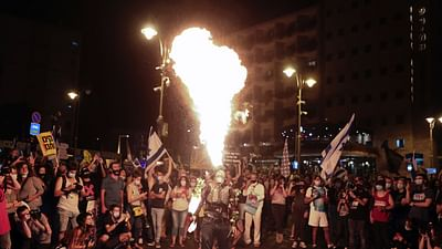 Israël : les manifestations, sources d'inspirations artistiques