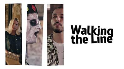 Tawsen, Parlor Snakes et Black Bones en session Walking the Line