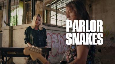 Parlor Snakes en session Walking the Line