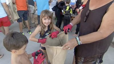 À la chasse au plastique sur la côte méditerranéenne