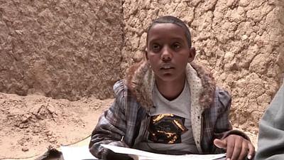Portrait d'enfant : Baba El Hadj à Tombouctou