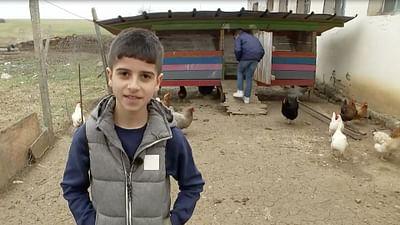Portrait d'enfant : Antonio en Bulgarie