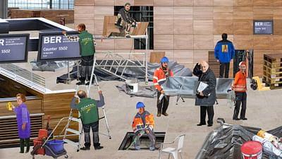 le chantier : l'aéroport de Berlin-Brandebourg