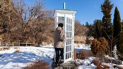 Japon :  tsunami, le téléphone du vent