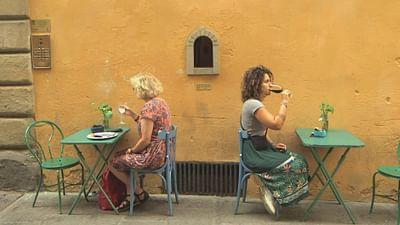 Florence : le retour des fenêtres à vin