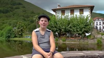 Portrait d'enfant : Unai au Pays Basque espagnol
