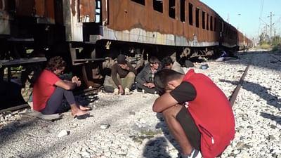 Grèce-Macédoine : sur la route des migrants