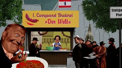 le mets : la Currywurst