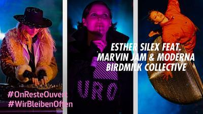 Esther Silex feat. Marvin Jam & Moderna au Holzmarkt de Berlin
