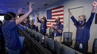 Perseverance sur Mars, la NASA en joie