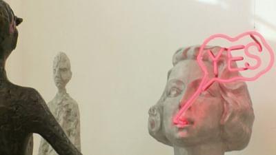 Tina Heuter, sculptrice isolée et inspirée