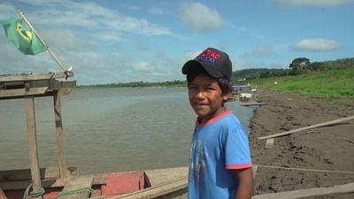 Portrait d'enfant : Alison au Brésil