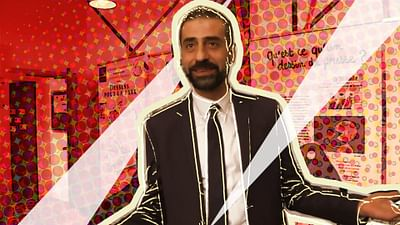 Ibrahim Cheaib, journaliste en exil
