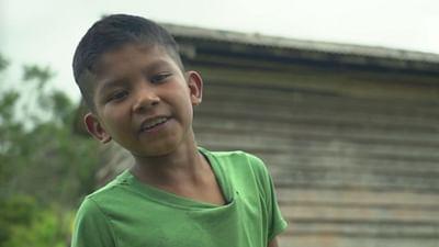 Portrait d'enfant : Cleison en Guyane française