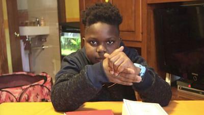 Portrait d'enfant : Adamo en Sicile