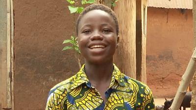 Portrait d'enfant : Cécile au Bénin