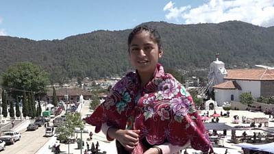 Portrait d'enfant : Josefa au Mexique