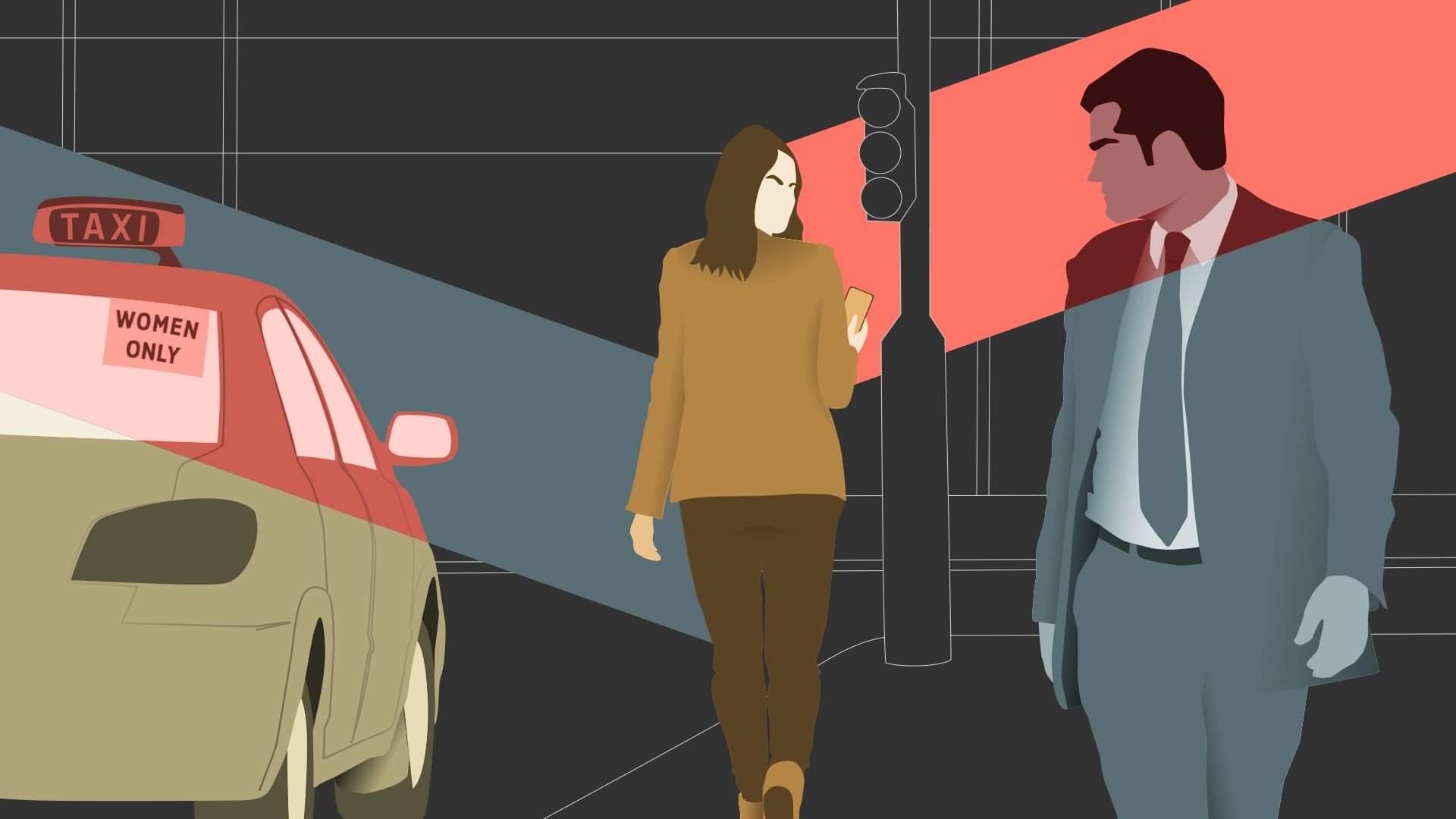 Les femmes dans la ville