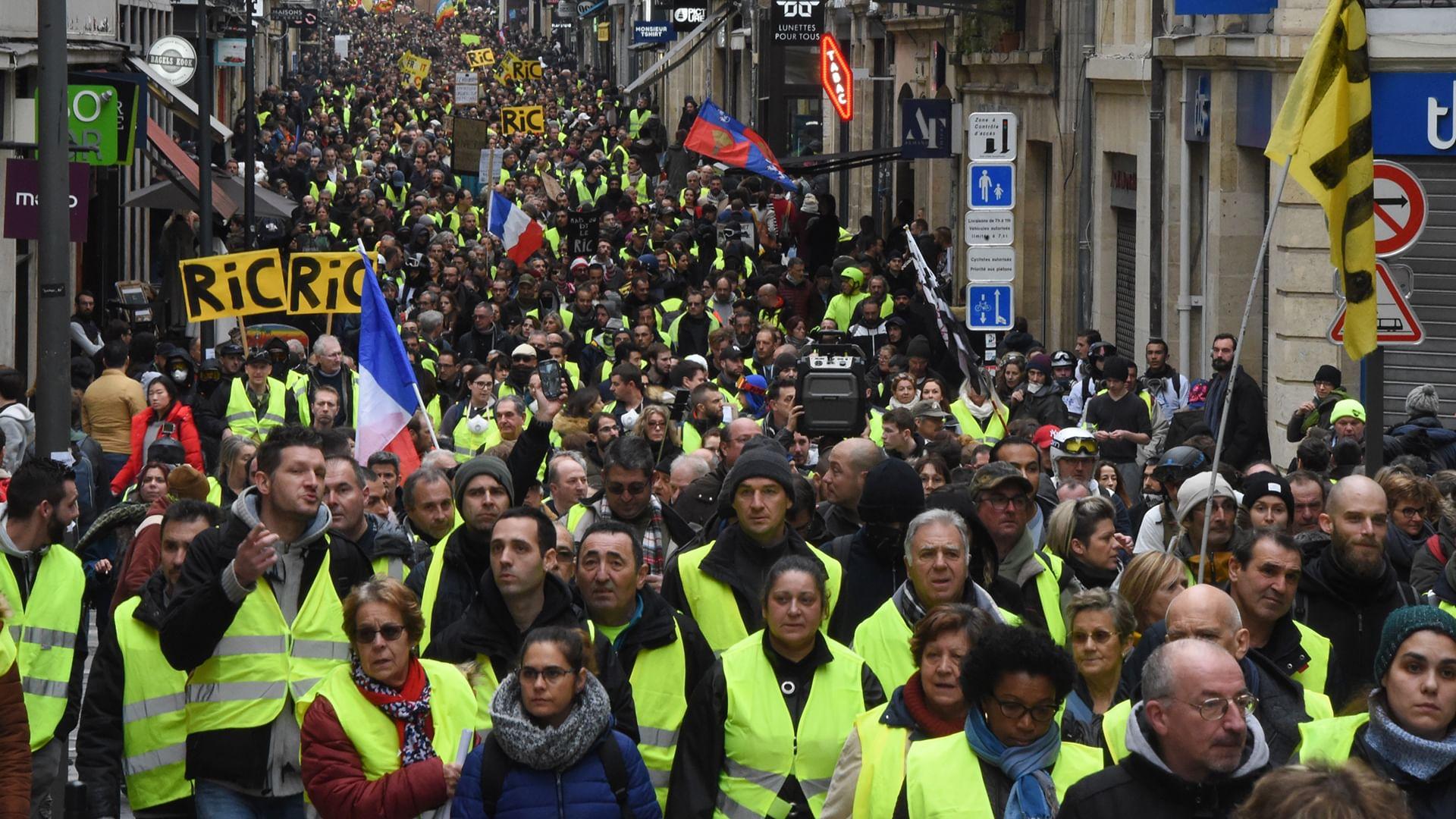 """La révolte des """"gilets jaunes"""""""
