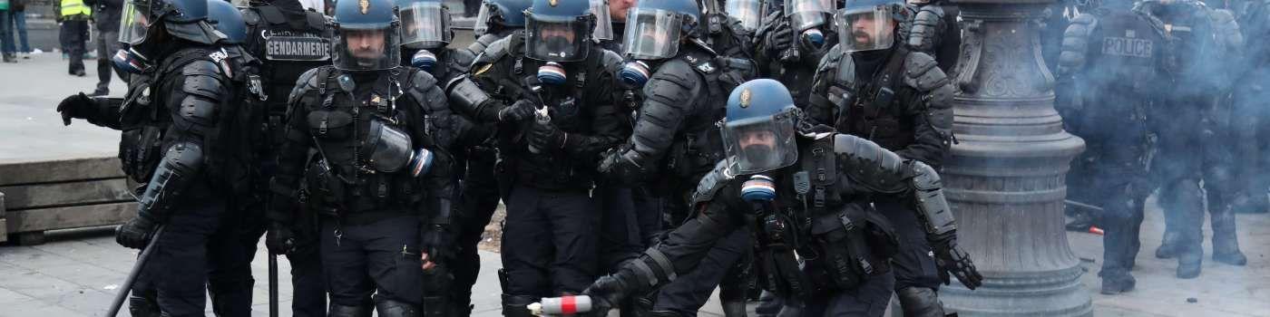 En Europe, les forces de l'ordre dans la tourmente