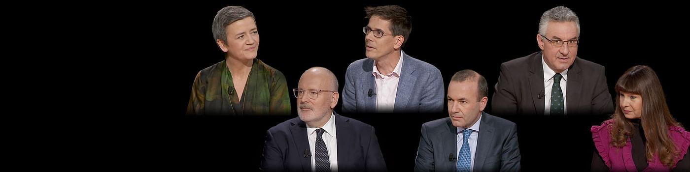 A la rencontre des têtes de liste européennes