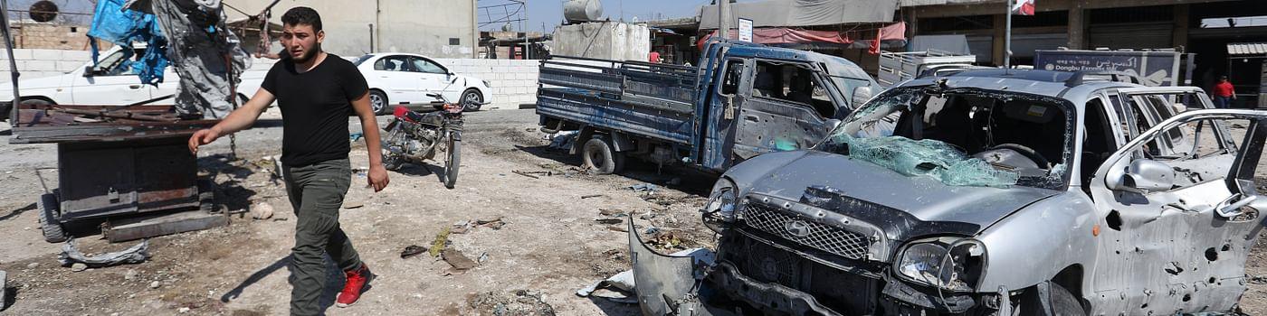 Le drame d'Idleb raconté par les journalistes syriens