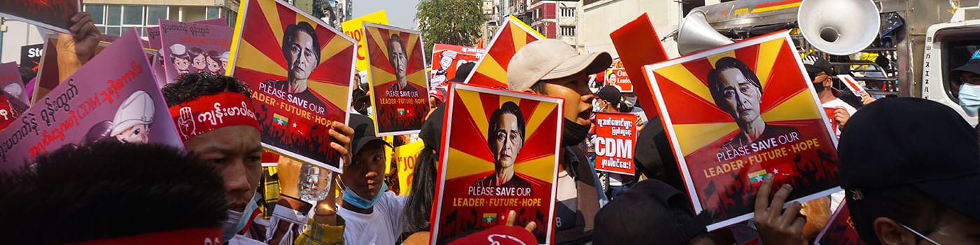 Birmanie : un peuple contre le coup d'État