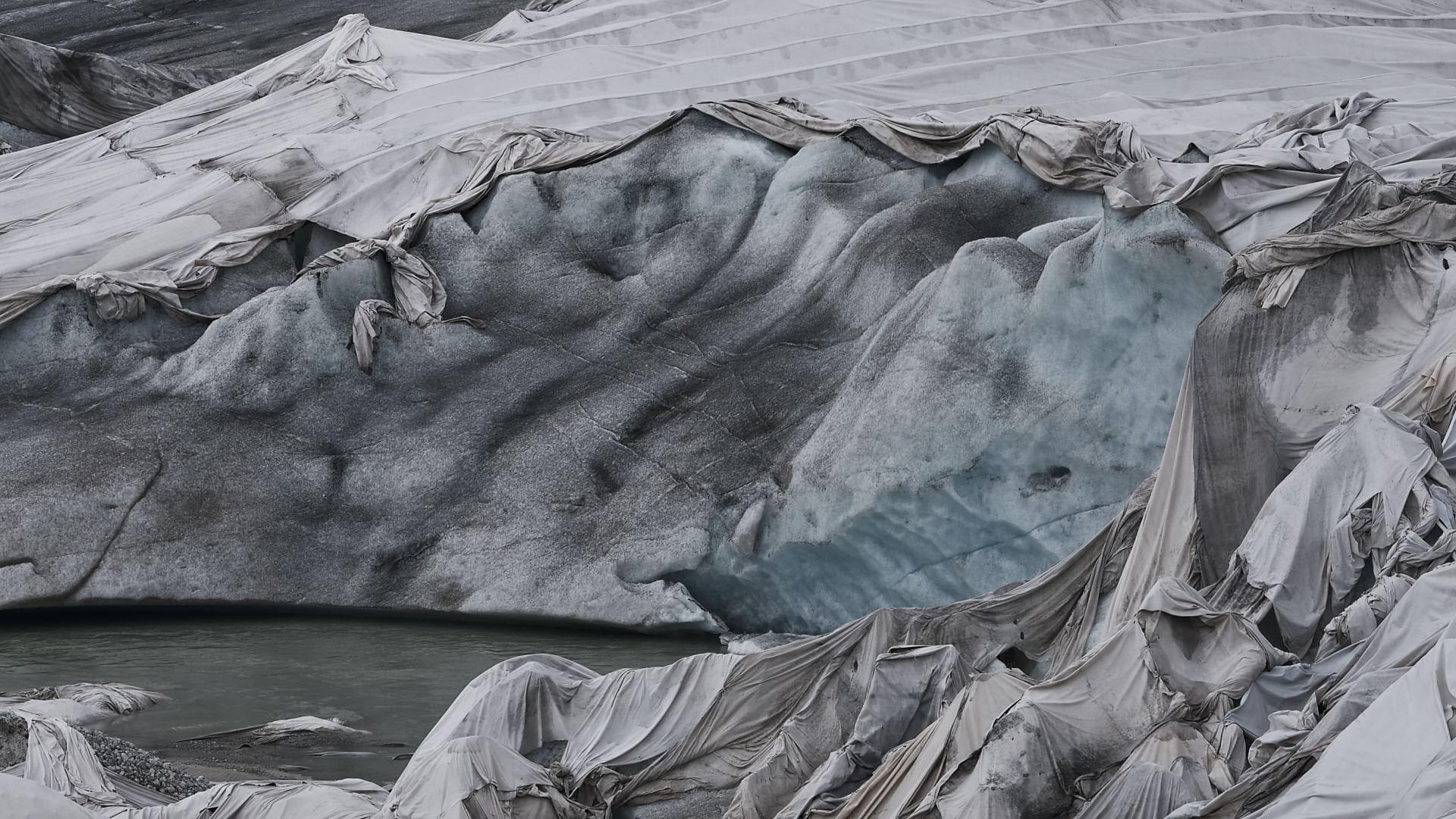 L'agonie des glaciers