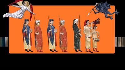 La peste, Morte Nera: 1347