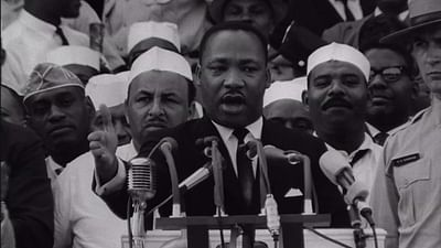 "Martin Luther King: ""I have a dream"""