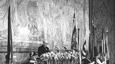Winston Churchill: Gli stati uniti d'Europa