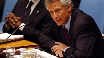 Dominique de Villepin: no alla guerra in Iraq