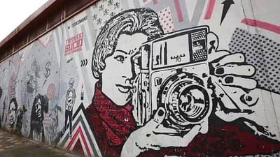 Arte di strada a Bogotà