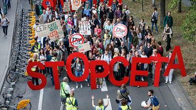 "Paul Magnette: ""No al CETA"""