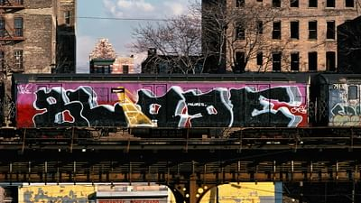 L'arte dei graffiti: la metro di New York (1971-1984)