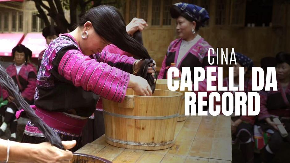 Qui vivono le Raperonzolo cinesi - Le donne con i capelli ...