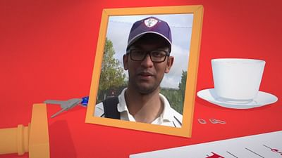 Tariq, giocatore di cricket a Strasburgo