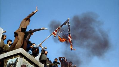 Quella bandiera bruciata