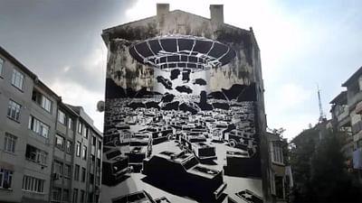 I graffiti di Mariusz Waras a Danzica