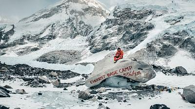 Jost Kobusch: in cima all'Everest