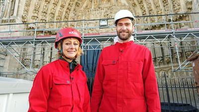 La ricostruzione di Notre-Dame di Parigi