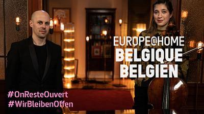 Omaggio al Belgio: Camille Thomas e Julien Quentin