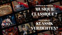 Il meglio dei concerti e degli spettacoli di musica classica su ARTE Concert, selezionati dalla redazione.